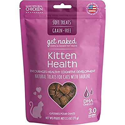 Get Naked 1 Pouch Kitten Health Soft Treats, 2.5 Oz