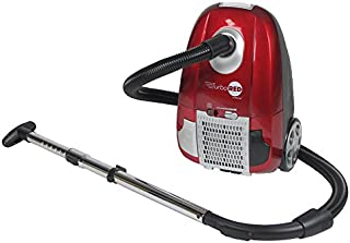 "Atrix AHC-1 Turbo Canister Vacuum, 18"" x 8.5"" x 12"", red, Silver, Chrome, Black"