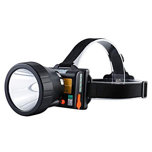 6500W portable phares de refroidissement rapide de refroidissement design éblouissement recharge USB charge trois vitesses réglage interrupteur super lumineux lampe au xénon étanche tête de lampe de p