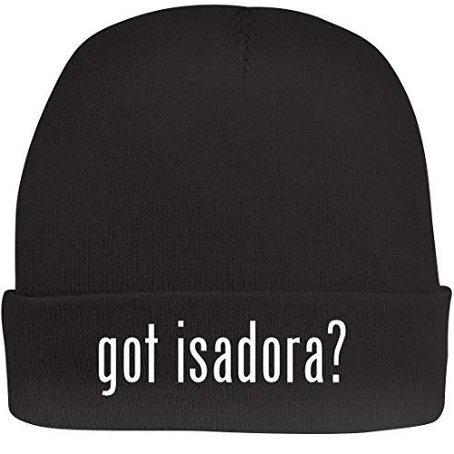 Shirt Me Up got Isadora? - A Nice Beanie Cap, Black, OSFA