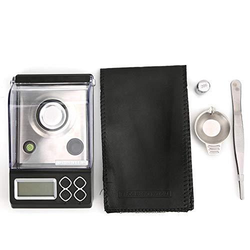 Báscula de bolsillo digital analógica de cocción analógica en milígramos, balanza electrónica en polvo