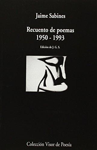 Recuento de Poemas. 1950 - 1993: 853 (Visor de Poesía)