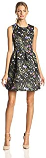 Glamorous Women's Floral Print Fit and Flare Dress