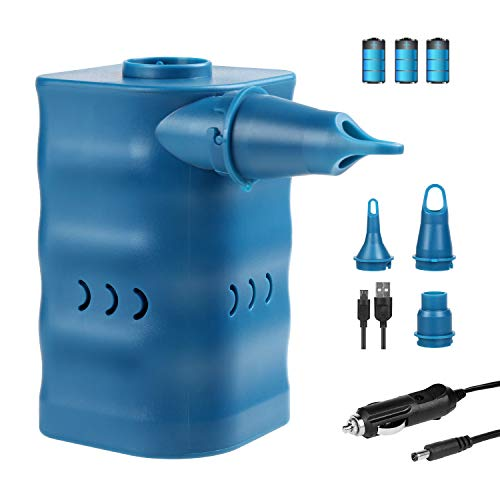 YISSVIC Bomba de Aire Eléctrica para Inflables Compresor Aire para Colchoneta Infla-desinfla...