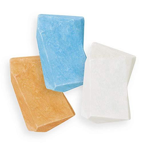 Duschbrocken 6er Set | 2 in 1: Festes Shampoo und Duschgel in einem | Plastikfrei und vegan | Inkl. smarter Dose [Die Höhle der Löwen]