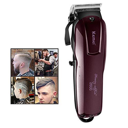 Lavable Électrique Tondeuse à cheveux Rechargeable Rasoir pour les Hommes bébé Sans fil Tondeuse à Barbe Machine à couper les Cheveux 220V-110V