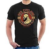 CAHANKO Red Cyclone Pro Wrestling Club Zangief Street Fighter Men's T-Shirt