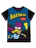 The Simspons Jungen Bartman T-Shirt Schwarz 158
