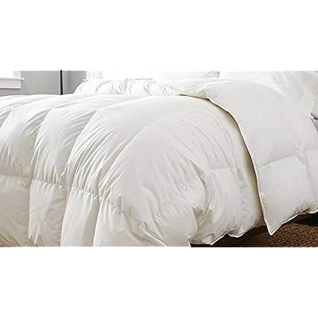 Couette en duvet et plumettes CAMA 150/160 ( 240 cm. X 220cm.) blanc