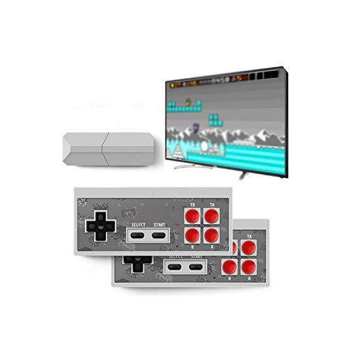 Gamepad |Y2 Console de jeu rétro Prise en charge 2 joueurs Hdmi Hd Intégré 568 Jeux vidéo classiques Contrôleur de manette de jeu rétro infrarouge portable-Version régulière-