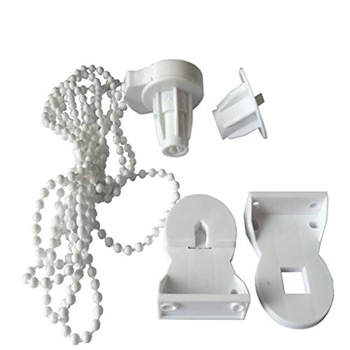 Laileya 25mm POM Vorhang Shade Rollo Kupplungshalter- Lange-Korn-Kette passendes Zubehör Kit