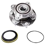 Detroit Axle - 4WD Front Wheel Hub Bearing Assembly Replacement for Toyota 4Runner Tacoma FJ Cruiser Lexus GX460 GX470-1pc Set