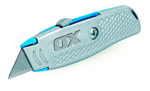 OX Tools OX-T220601 Trade Retractable Knife, Multi-Colour