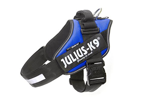 Julius-K9 IDC Powerharness for Dogs with Two Free Custom Patches, Blue Size 1