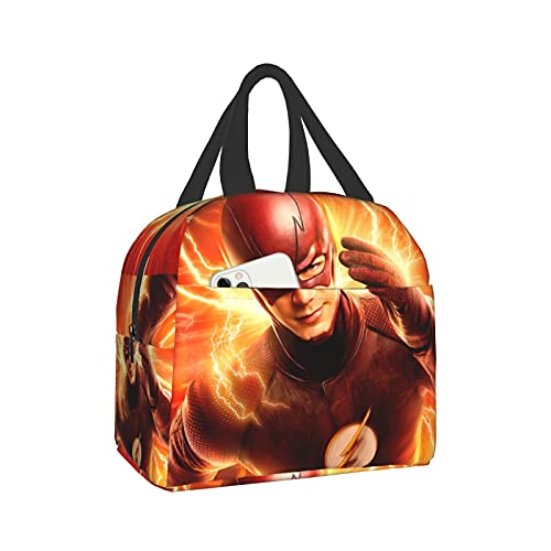 The Flash lunch bag Heat Insulation Lunch Box Easy To Clean Tote Bag Reusable Portable Lunch Tote for work school Picnic