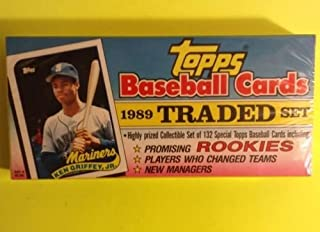1989 Topps Traded Baseball Complete Factory Sealed Set Ken Griffey Jr Rookie