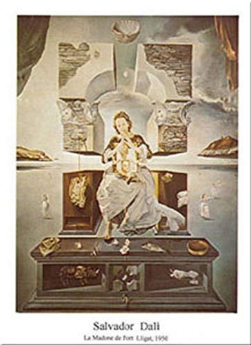 Buyartforless Madonna Di Port Lligat by Salvador Dali 31x24 Art Print Poster