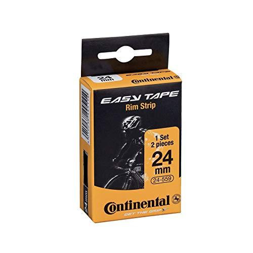 Continental 195018 Easy Tape Rim Strip (Set Box mit 2 Stück), Schwarz
