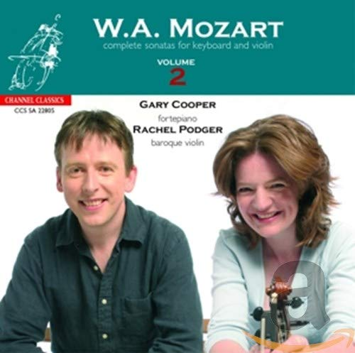 Mozart: Complete Sonatas for Keyboard and Violin Vol.2