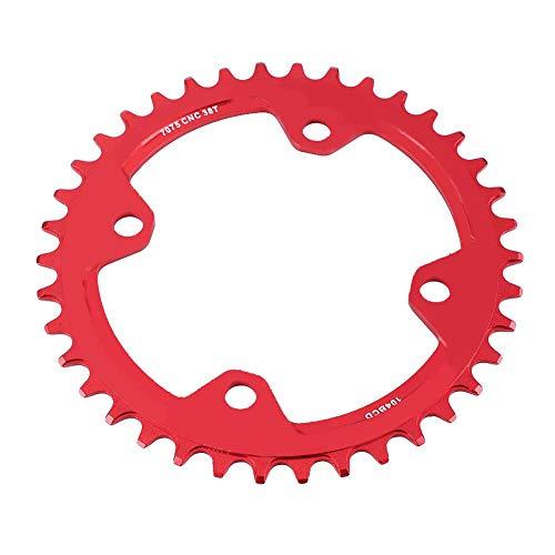 VGEBY1 Fietskettingblad, stalen mountainbike Single Crank kettingblad voor 32/34/36/38TParts fietsonderdelen kettingbladen
