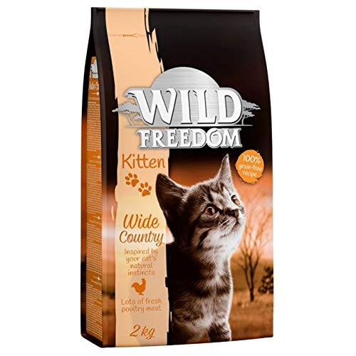 Wild Freedom Kätzchen Wide Country - Geflügel, 2 kg