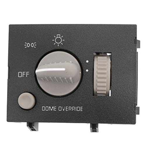 N\A Interruptor de Coche para Safari Savana Suburban 1995-2000 15013005 93443101 Faro Light Dimmer Dimmer Interruptor de luz de estacionamiento para Chevy Astro Tahoe