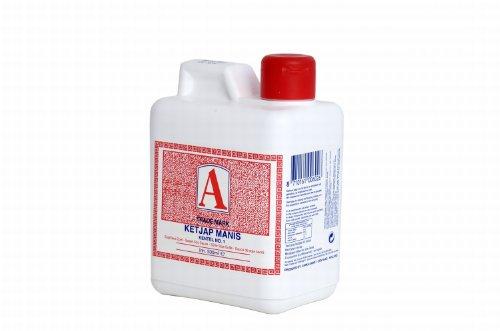 Soy Sauce | A Trade Mark | Ketjap Manis No. 1 500ml | Peso total 500 gramos