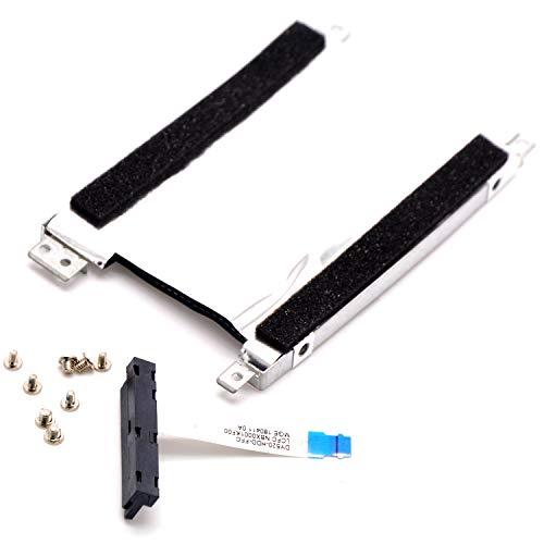 Deal4GO SSD HDD SATA Hard Drive Cable + Caddy Bracket for Lenovo Legion Y520 R520 R720 Y520-15 R720-15 NBX0001KF00