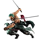 XFHJDM-WJ Siyushop Regalo de cumpleaños Retrato de Pirata de una Pieza: Figura de PVC de Sa-MAX Roronoa Zoro (Versión San Zen) - Altura 19 cm LIJ429