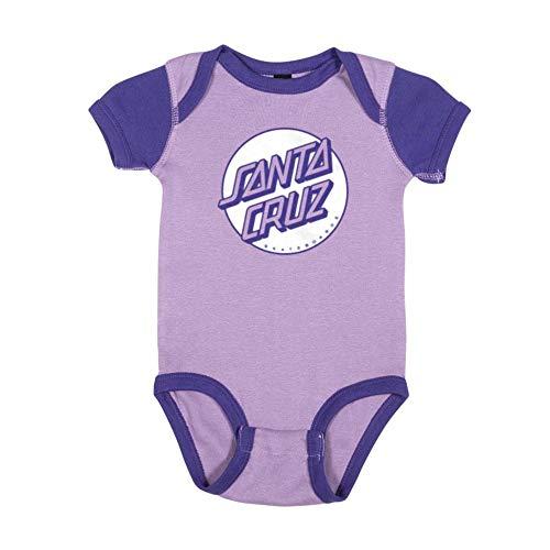 Santa Cruz Missing Dot One Piece S/S Infant T-Shirt, Lavender/Purple (6 Months)