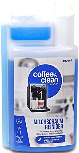 JaPeBi 1L Milchschaumreiniger Coffee&Clean für Kaffeevollautomaten, Milchschäumer, Sahneautomaten | Milchsystemreiniger