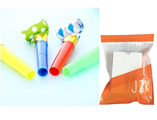 JZK 20 x Silbatos de soplado Juguetes de Fiesta Rellenar piñatas ...
