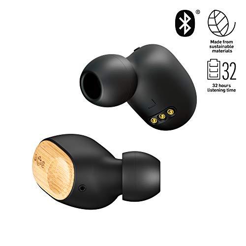 House of Marley Auriculares intrauditivos, Bluetooth 5.0 inalámbrico con OTA, Resistente al Agua, duración de la batería de 7 Horas, Powerbank para Cargar Otros Dispositivos