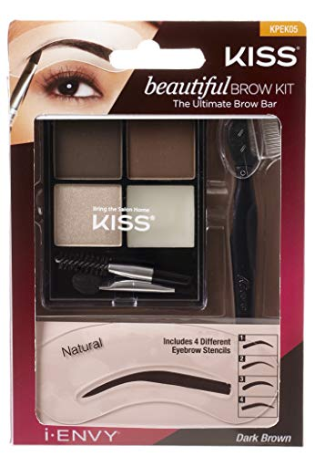 i Envy by Kiss Wing it Gel Eyeliner with Stencil - Black (Brow Kit)