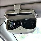 ZYTZK para Gafas de Coche para para Panamera Cayman Carrera Boxster 911918 Macan Macan S Caja de Almacenamiento de Gafas de Coche con diseño de Coche-Negro