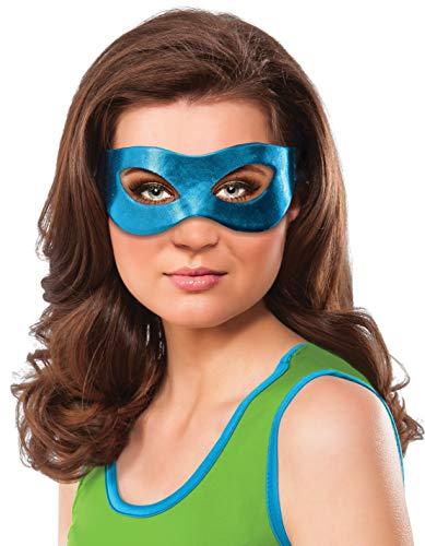 Rubie's Women's Ninja Turtles Leonardo Eye Mask, One Size