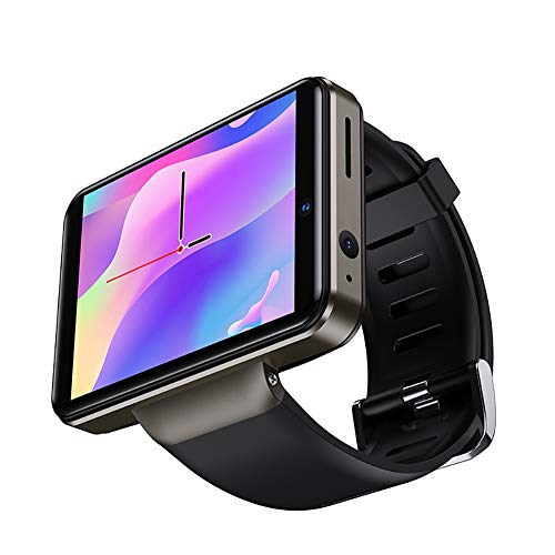 Reloj De Llamada Inteligente 4G, con 3 GB De RAM, 16 GB De ROM, WiFi, Pantalla Táctil Completa De 2,41 Pulgadas, GPS De Frecuencia Cardíaca 24 Horas, Desbloqueo Facial, Cámaras Duales