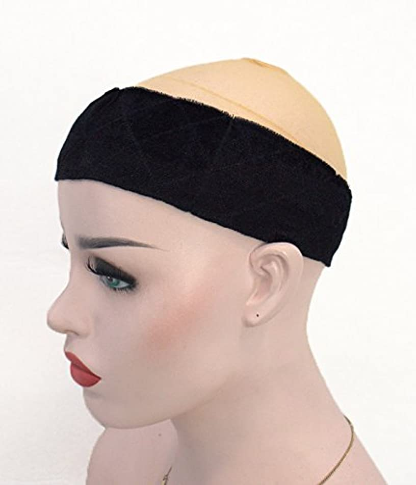 UniWigs Wig Grip Elastic Headband,Adjustable Band with Free Clips&Tape,Keep Wig Secured For Fashion Women (Black)