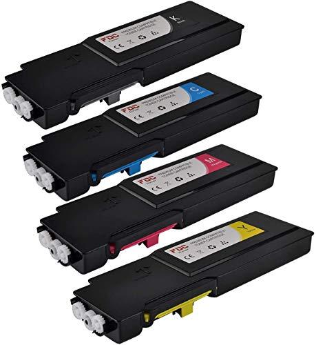 FDC 106R02232 106R02229 106R02230 106R02231 Cartucce toner di ricambio compatibili per stampanti Xerox Phaser 6600 6600N 6600DN WorkCentre 6605 6605N 6605DN (4 colori)