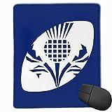 Tapis de Souris de Jeu - Tapis de Bureau Rugby Scotland - 250 mm de Long et 300 mm de Large - Grand Tapis de Souris pour Ordinateur de Bureau, Ordinateur Portable, décoration, Protection de Bureau