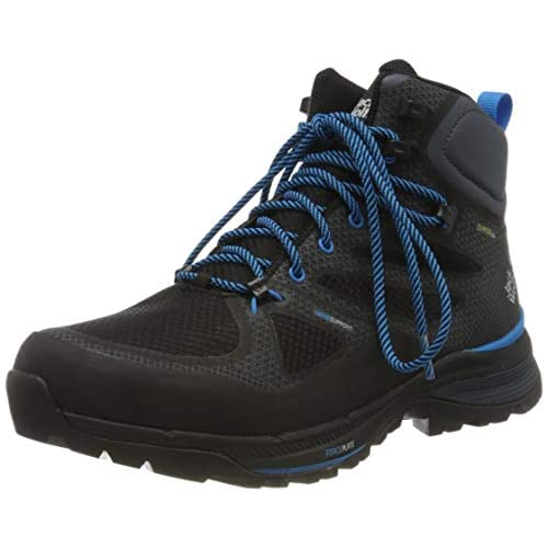 41d9aGA6h9L. SS500  - Jack Wolfskin Men's Force Striker Texapore Mid Track and Field Shoe