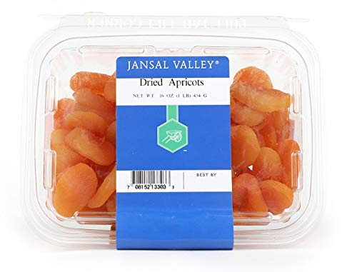 Jansal Valley Dried Apricots, 1 Pound