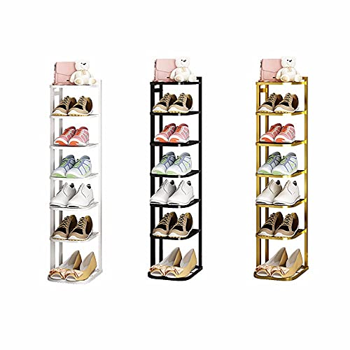 LAMCE Nórdico Moderno INS Viento Zapatero Puerta Simple Zapatillas de Hierro Estante de Almacenamiento hogar Zapatos Multicapa