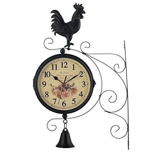 relojes de pared estacion de tren de la marca Lailuaxoa