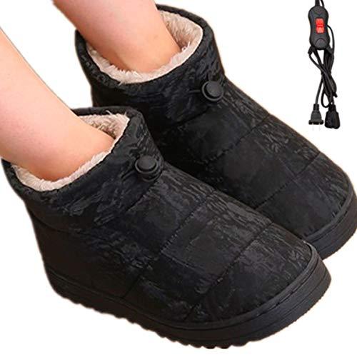 Beheizter Hausschuhe Fußwärmer Heizschuhe Elektrische Fußwärmer Elektrische Fußwärmer.