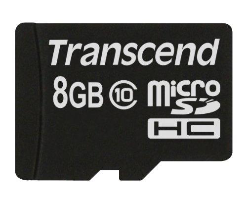 Transcend 8GB microSDXC/SDHC Class 10 (Premium)