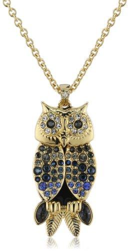 Swarovski Women's Necklace Vanella Owl 5019047 Crystal 42 cm Multi-Coloured