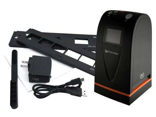 Wolverine F2D100 35mm Camera Film to Digital Images Scanner Converter (Black)
