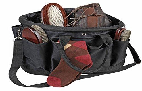 HKM 6449 Putztasche XL ohne Inhalt, Turniertasche für Pferdeputzutensilien