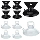 10 Pieces Light Bulb Changer Kit, MR16 GU10 Lamp Changer Head, 2 Size Suction Cup Bulb Replacing for LED Halogen Mini Track Lights, Recessed Lighting, Spot Lights and Range Hood